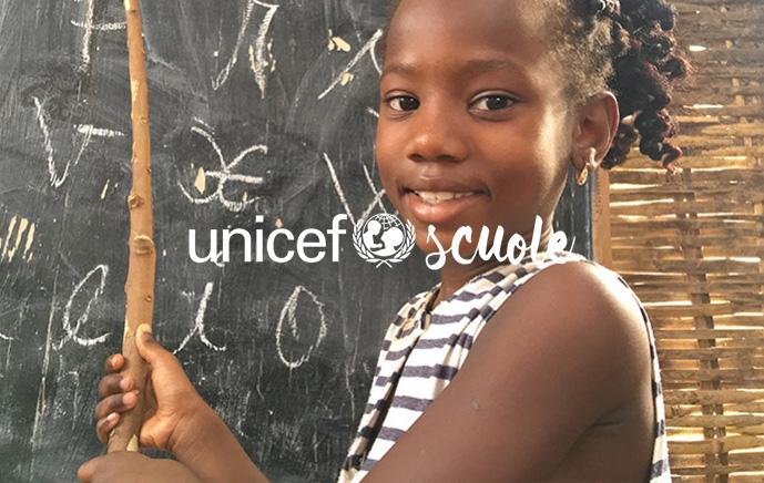 garantisci istruzione con un lascito testamentario all'unicef